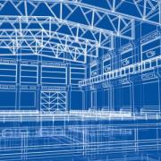 warehouse construction plans_86916660_s