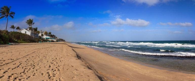 Sands of Hillsboro Beach in Pompano Beach