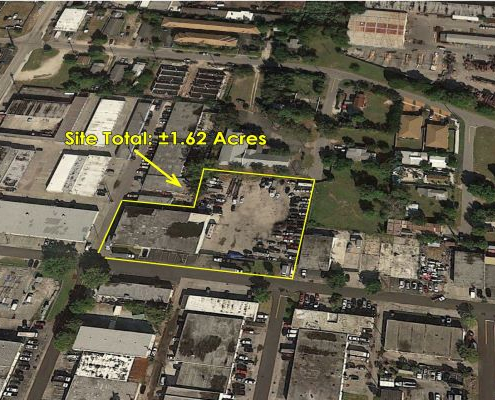 """</p> <p style=""""text-align: center;"""">Freestanding Industrial Warehouse with Adjoining Lot Site Total ±1.62 Acres</p> <p>"""